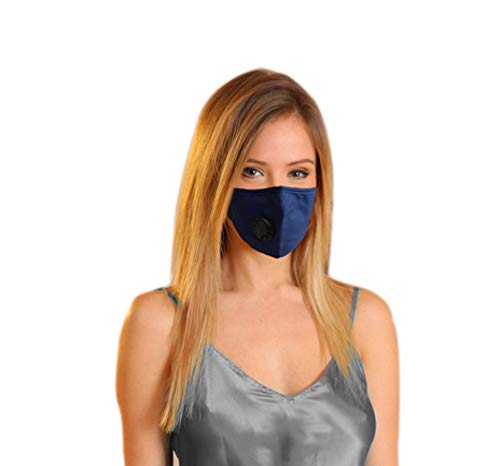 UTKU Military Grade N99 Dust Mask / Washable and Reusable Cotton Dustproof Mask With 4 Replaceable Activated Carbon N99 Filters/Protects Against Dust,Smoke,Exhaust Gas,Pollen Allergy,Viruses and Germs