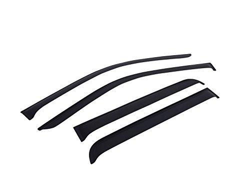 - EGR 643395 SlimLine Tape-On WindowVisors Set of 4 Matte Black Finish [Available While Supplies Last] SlimLine Tape-On WindowVisors Set of 4