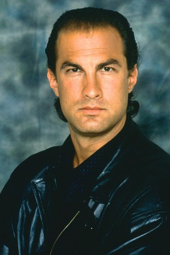 - Steven Seagal in Above the Law 24x36 Poster in leather jacket
