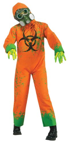 Forum Novelties Bio Hazard Boy Costume, One Size (Gas Mask Girl Costume)