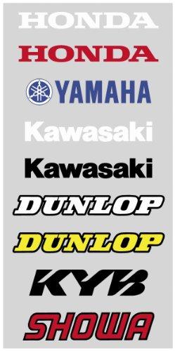 (Factory Effex 06-44216 Black 'Yamaha' Universal Swing Arm Sticker)