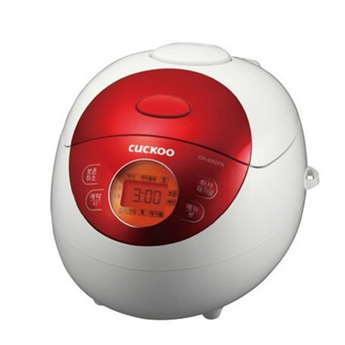 Cuckoo Electric Rice Cooker Red Beetle CR-0351F (3cup)