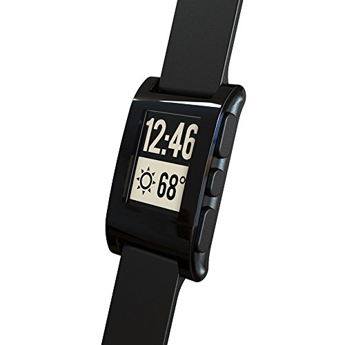 Pebble 301BL Smartwatch 33mm Plastic Black Silicone