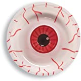 Plastic Chip and Dip Tray, Halloween Eyeball