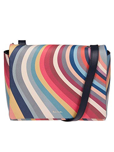 Paul Smith Women's W1a5824aswirl90 Multicolor Leather Shoulder Bag