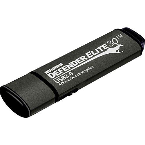 Defender Elite30, Hardware Encrypted, Secure, SuperSpeed USB 3.0 Flash Drive,