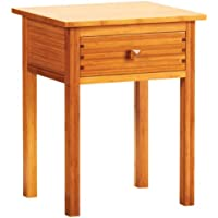 GREENINGTON LLC GB0602 Hosta Bamboo Nightstand, Caramelized