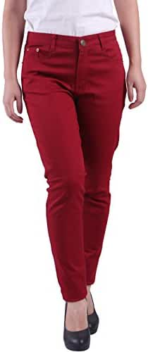 HDE Women's Jeans Jeggings Five Pocket Stretch Denim Pants