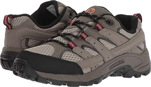 Shoe Hiking 3 Low (Merrell Boys' Moab 2 Low LACE Hiking Shoe, bark Brown, 3 M US Little Kid)
