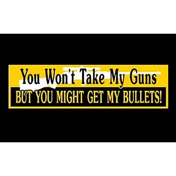 Gun Control Bumper Sticker | Zazzle |Gun Bumper Stickers