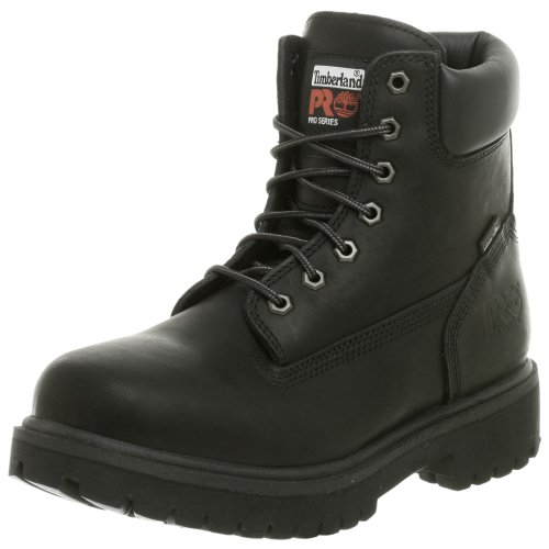 Timberland PRO Men's Direct Attach Six-Inch Soft-Toe Boot, Black,10.5 W