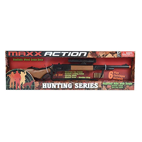Maxx Action Hunting Series Toy Repeater Rifle with