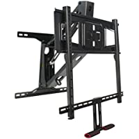 "VIVO Counterbalance Above Fireplace Height Adjustable Swivel Gas Spring TV Pull Down Wall Mount for LCD LED Plasma Screen 40"" to 63"" (MOUNT-VW63G)"