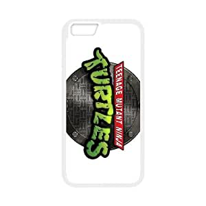 Teenage Mutant Ninja Turtles 008 funda iPhone 6 Plus 5.5 Inch Cubierta blanca del teléfono celular de la cubierta del caso funda EVAXLKNBC17849