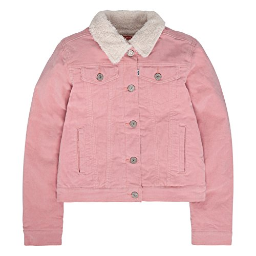Girls Sherpa Lined Jacket (Levi's Girls Denim Trucker)