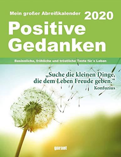 Abreißkalender Positive Gedanken 2020