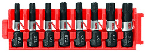 Bosch CCSTV108 8Piece Impact Tough Torx 1 In. Insert Bits with Clip for Custom Case System - http://coolthings.us