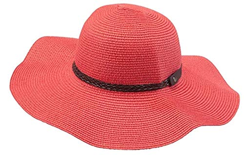73c12654c390d Sunlily Roll-n-Go Travel Sun Hat (Coral) at Amazon Women s Clothing ...