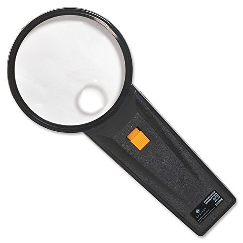 - Sparco 01878 Illuminated Magnifier,Round,2X Main/4X Bifocal,3
