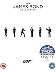 Save on The James Bond Collection 1-24 [Blu-ray] [2017] and more