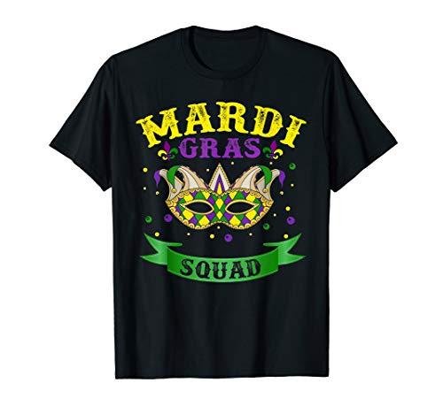 Hot Mardi Gras Girls (Mardi Gras Squad T-shirt Funny Mardi Gras Team)