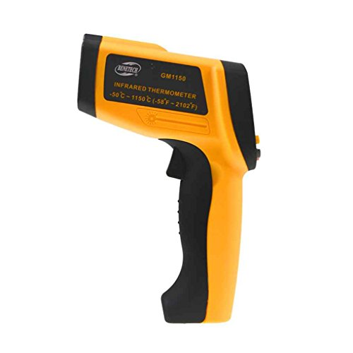 GM1150 -50 ~ 1150℃ Non-contact Infrared Thermometer -58~2102℉ Handheld Pyrometer IR Temperature Meter with LCD Backlight by dianpo (Image #2)
