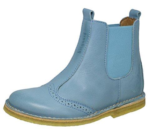 Bisgaard 50203118, Botas Chelsea para Niñas Azul (Sky Blue)