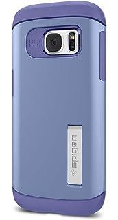 Spigen Coque Galaxy S7 Edge,  Slim Armor  AIR Cushion  Bleu  Air ... d140b60bcd0a