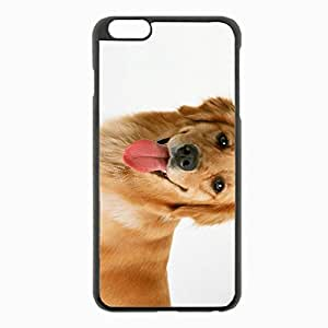 iPhone 6 Plus Black Hardshell Case 5.5inch - hound dog background Desin Images Protector Back Cover