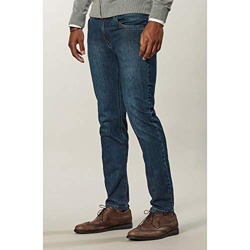 Calça Jeans Azul Low Rise Azul / 44