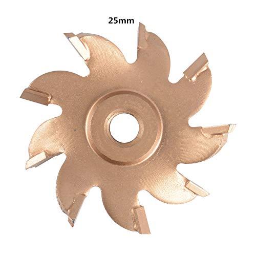 Cuchilla Ranuradora de 35mm Isunking Cuchilla de Aleaci/ón de Diamante para Perforadora de Pared Agujero Interior 11mm