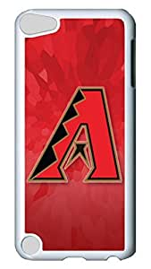 GOOD For iPod Touch 5, iPod Touch 5 Case, Hot Sale Arizona Diamondbacks Protective Hard PC Plastic Case Cover for Apple iPod Touch 5 5th Generation White