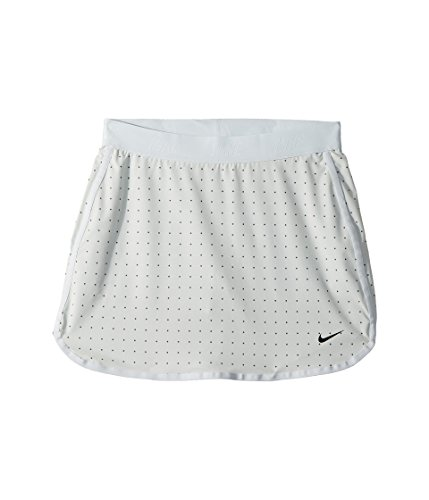 NIKE Golf Kids Flex Print Skort (S, Pure Platinum/Dark - Girls Nike Skirt