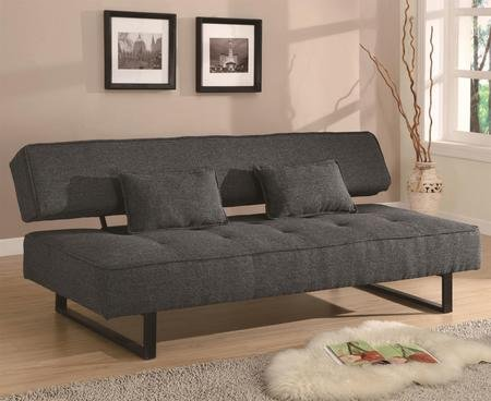 coaster-300137-sofa-beds-and-futons-contemporary-armless-sofa-bed-with-tufted-seat-accent-pillows-in