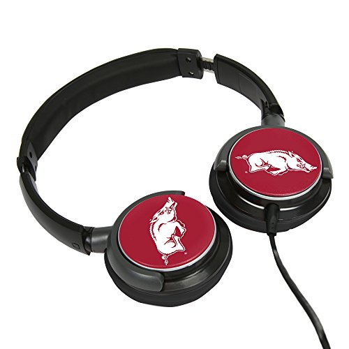 (AudioSpice Arkansas Razorbacks Sonic Boom 2 Headphones)