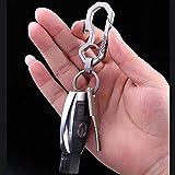 FEGVE Titanium Keychain Quick Release Keychain