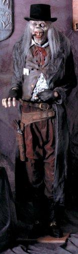 Gunslinger Old Deadeye Halloween Prop