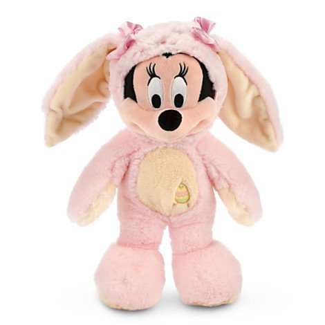 (Disney MINNIE MOUSE EASTER BUNNY - Plush Easter Honey Bunny - 12'')