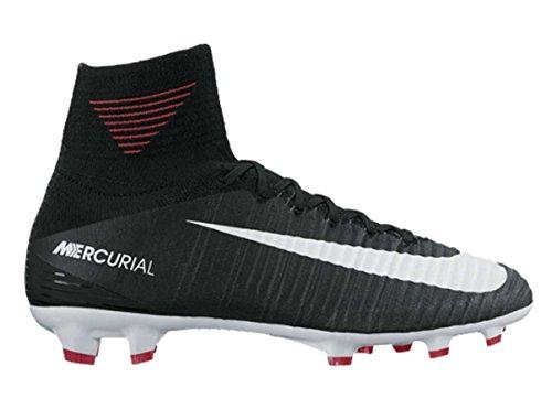 Gris Blanc Mercurial 5 Blanc Superfly Noir Chaussures Nike Noir FG Gris 5Y Enfants Noir années foncé V ZRxxYgq
