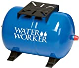 WaterWorker HT20HB Water Worker Ht-20Hb Horizontal Pre-Charged Well Tank, 20 Gal, 1 In Mnpt, 100 Psi, Steel 20-Gallon