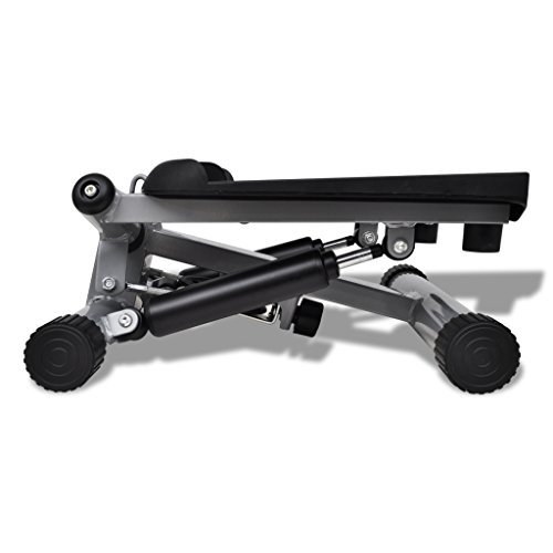 Anself Black Twister Stepper for Fitness by Anself
