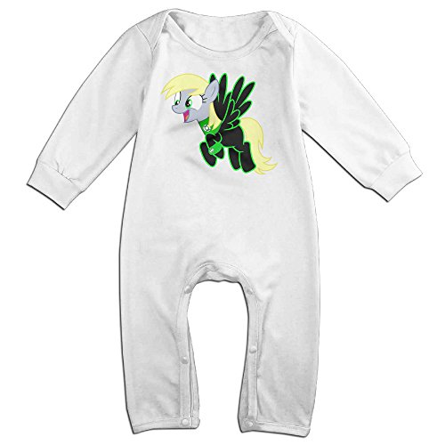 Tumble Leaf Costume (KIDDOS Baby Infant Romper American Comic Character Long Sleeve Jumpsuit Costume,White 12 Months)