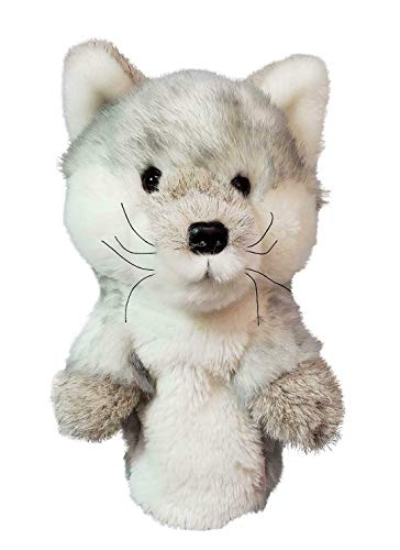 Headcovers Daphne's Silver Fox Driver - Fox Golf Headcover