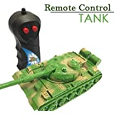 Wonder 096 Remote Control Electric Toy Simulation Tank with Light and Music