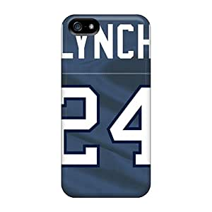 Iphone 5/5s QOY858FUwk Seattle Seahawks Tpu Silicone Gel Case Cover. Fits Iphone 5/5s