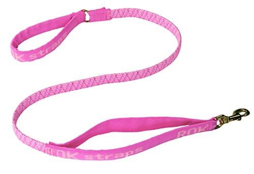 Stretchable Puppy Dog Leash Harness (Orange) - 5