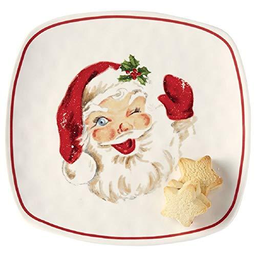 Vintage Santa Cookie Platter, 12