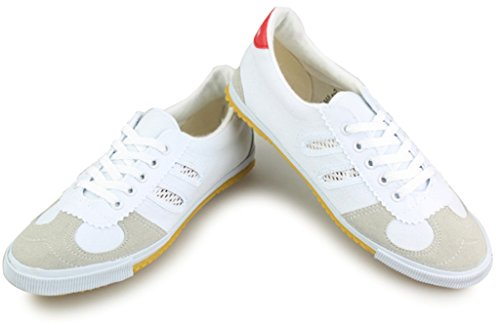 GFONE ,  Damen Sneaker Low-Tops , weiß - weiß - Größe: 39 EU