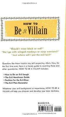 How to Be a Villain: Evil Laughs Secret Lairs: Master Plans ...