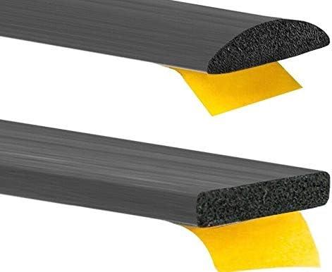 Moosgummidichtung 10m Rolle Gummidichtung selbstklebend Türdichtung Hubdach Moos